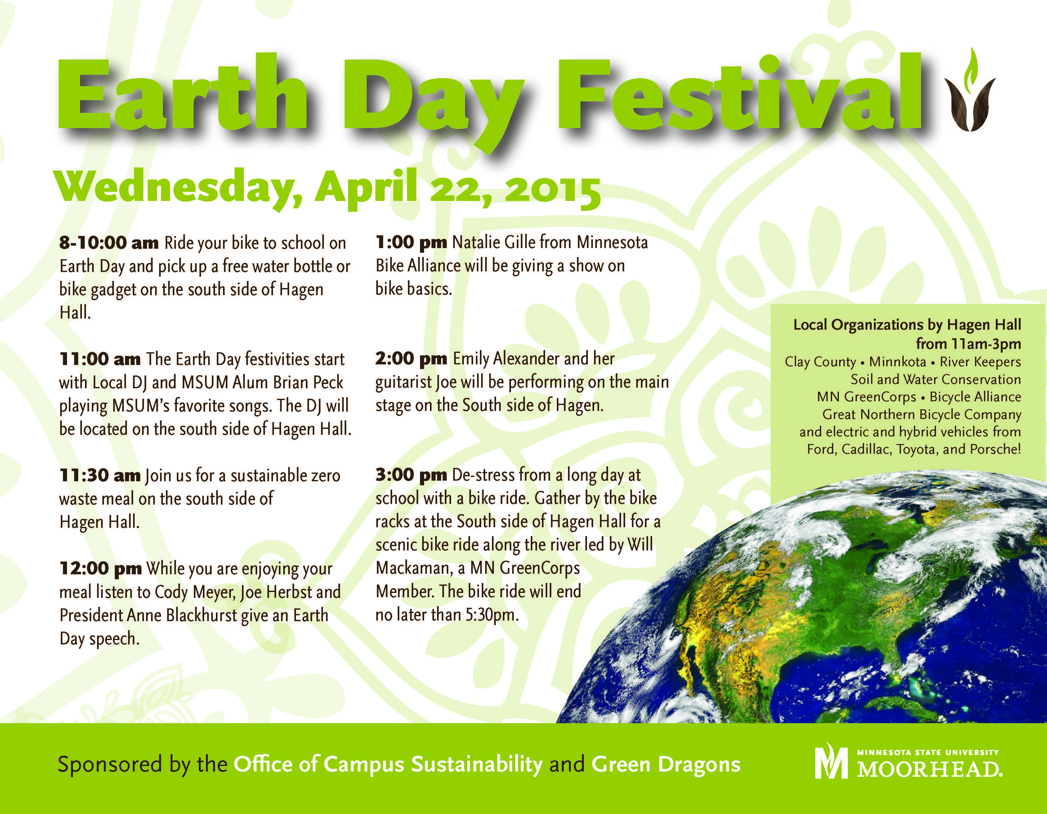 Earth Day flyer 2015