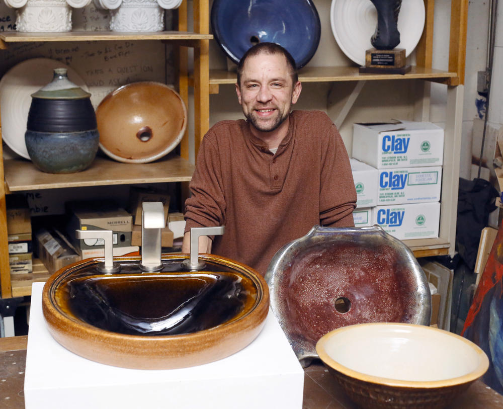 Fargo pottery maker creates custom fixtures meant for daily use – News