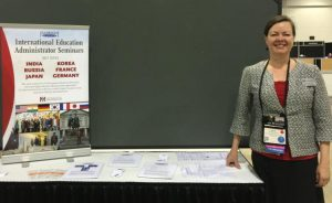 NAFSA Fulbright poster session